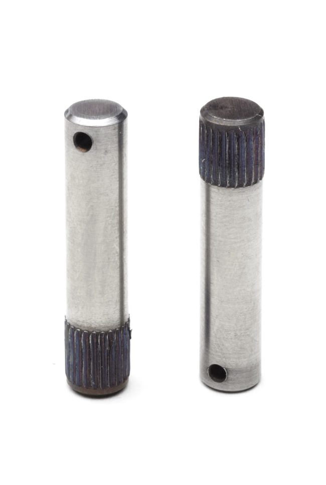 Knurled shaft